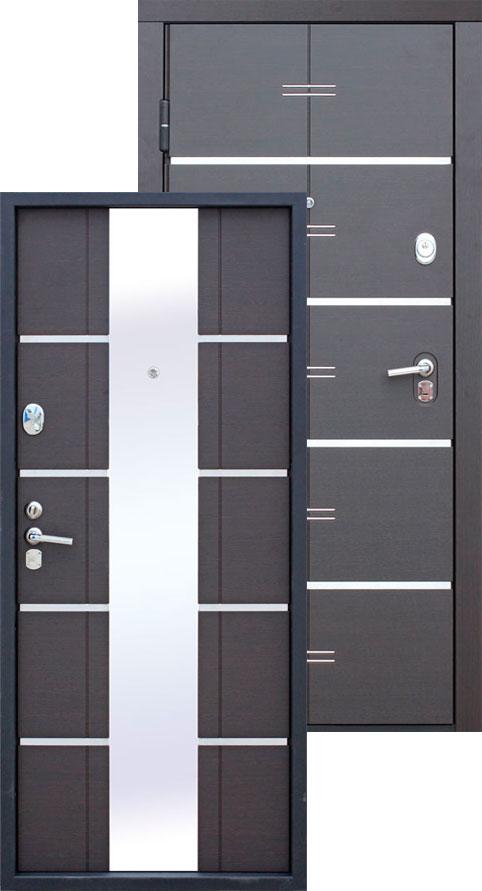 дверь входная белый венге