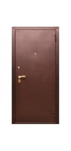 металлическая дверь элит с зеркалом